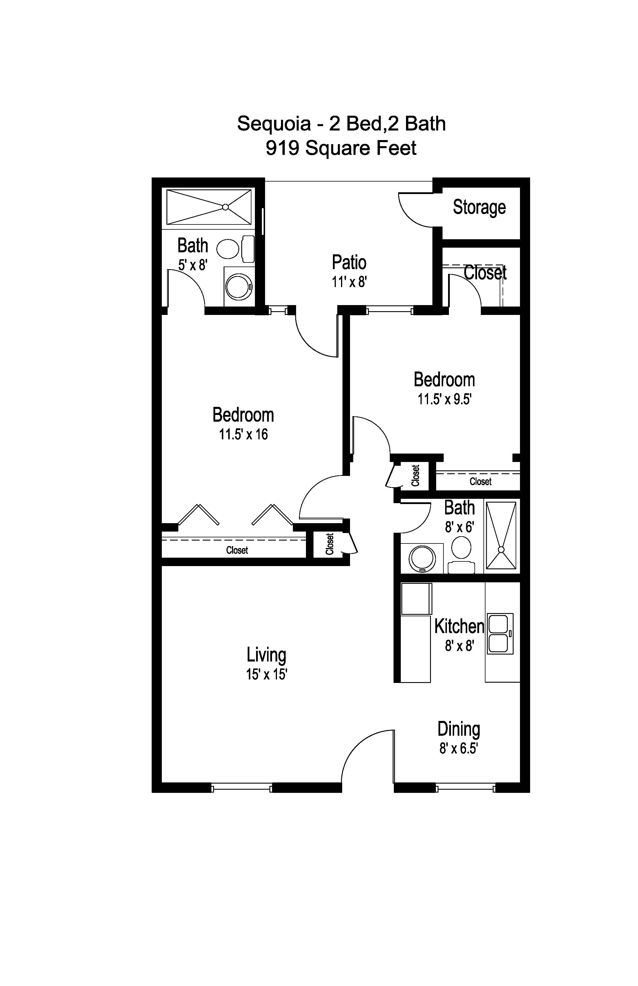 Independent Living Floor Plan Amp Prices Historic Mesa