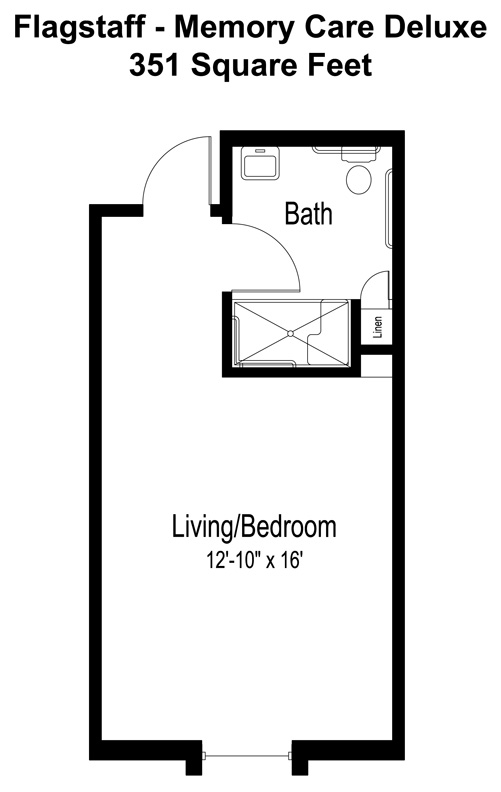 Memory Care Floor Plans Amp Prices In Surprise Az