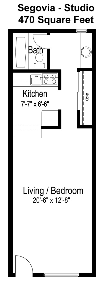 Segovia floor plan