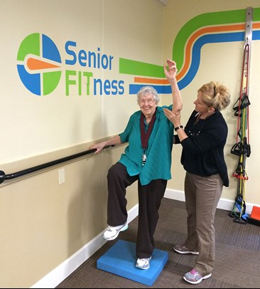 Rita and Allie Senior FITness