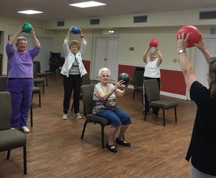 Cardio Fit SeniorFITness