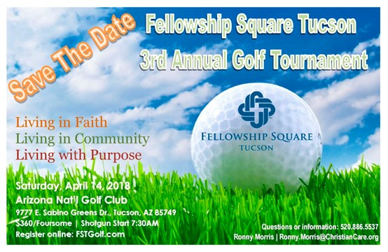 Fellowship Square Tucson 3rd Annual Golf Tournament