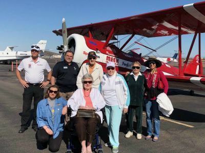 FSQ Phoenix group trip to Ageless Aviation Dreams