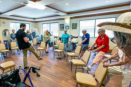 Balance Class Helps Prevent Falls and Maintain Independence