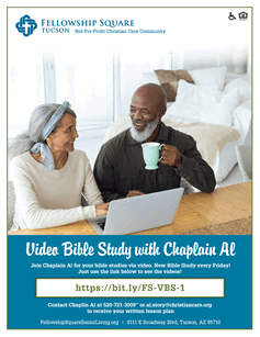 Video Bible Study Flyer
