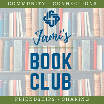 Descriptive photo of books - Jami's book club