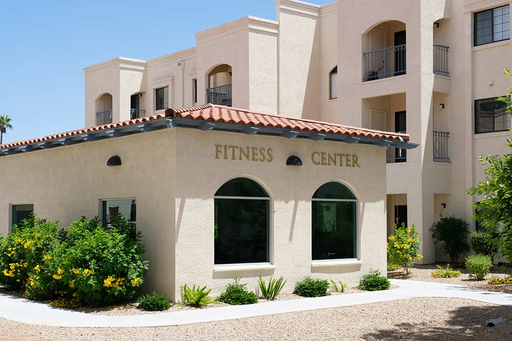 Photo of Fitness Center for seniors at Fellowship Square Phoenix