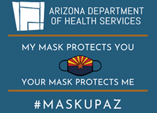 AZDHS Icon link to free masks for vulnerable Arizonans