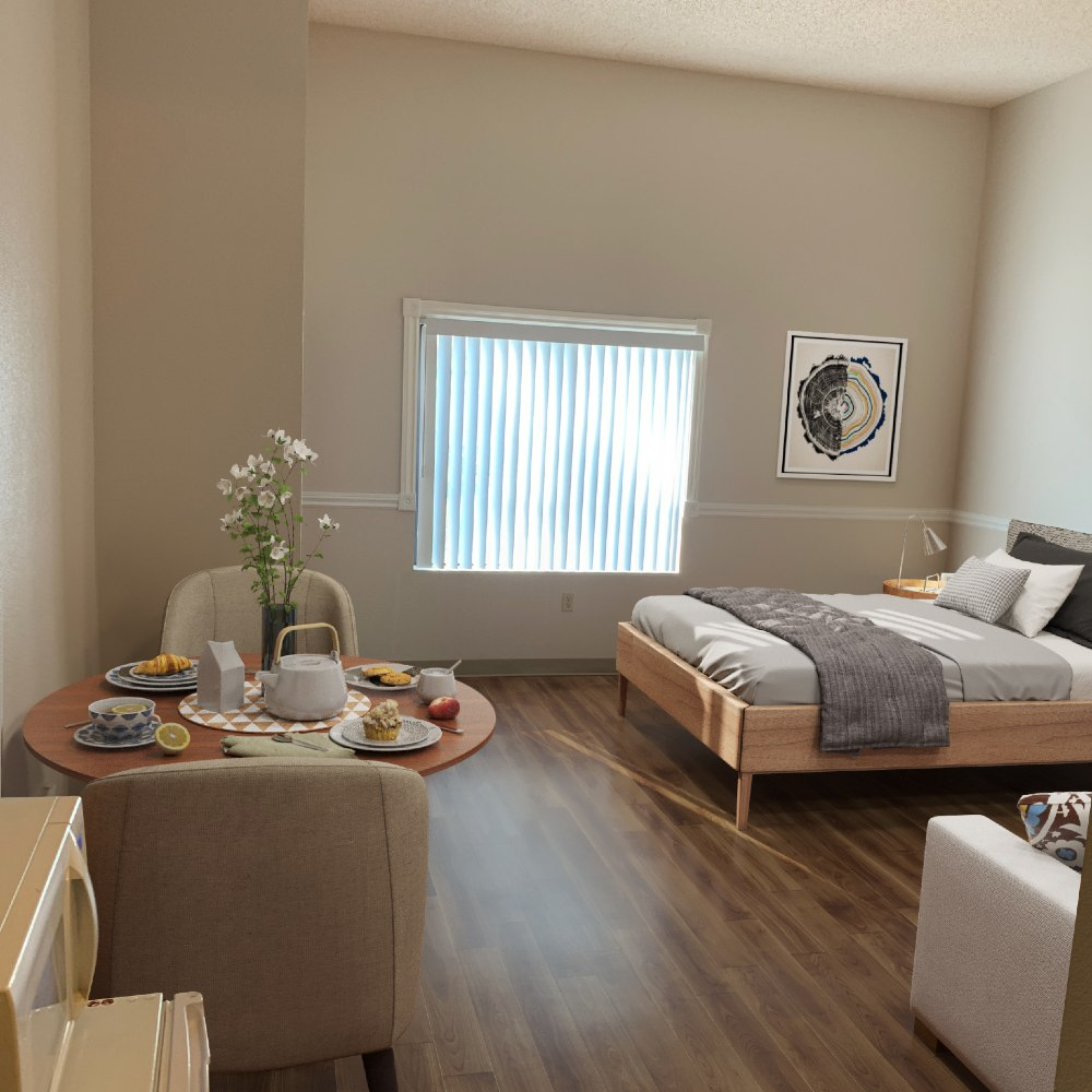 Photo of assisted living studio for seniors