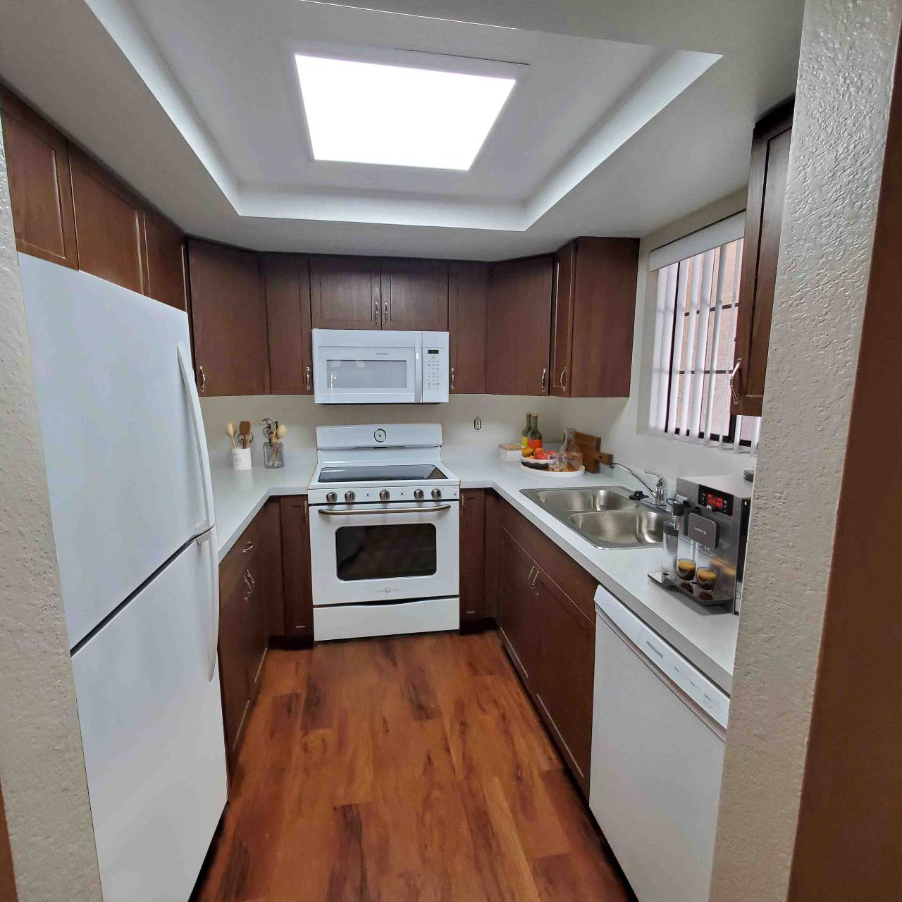 Photo of kitchen in senior living apartment Garden Home D