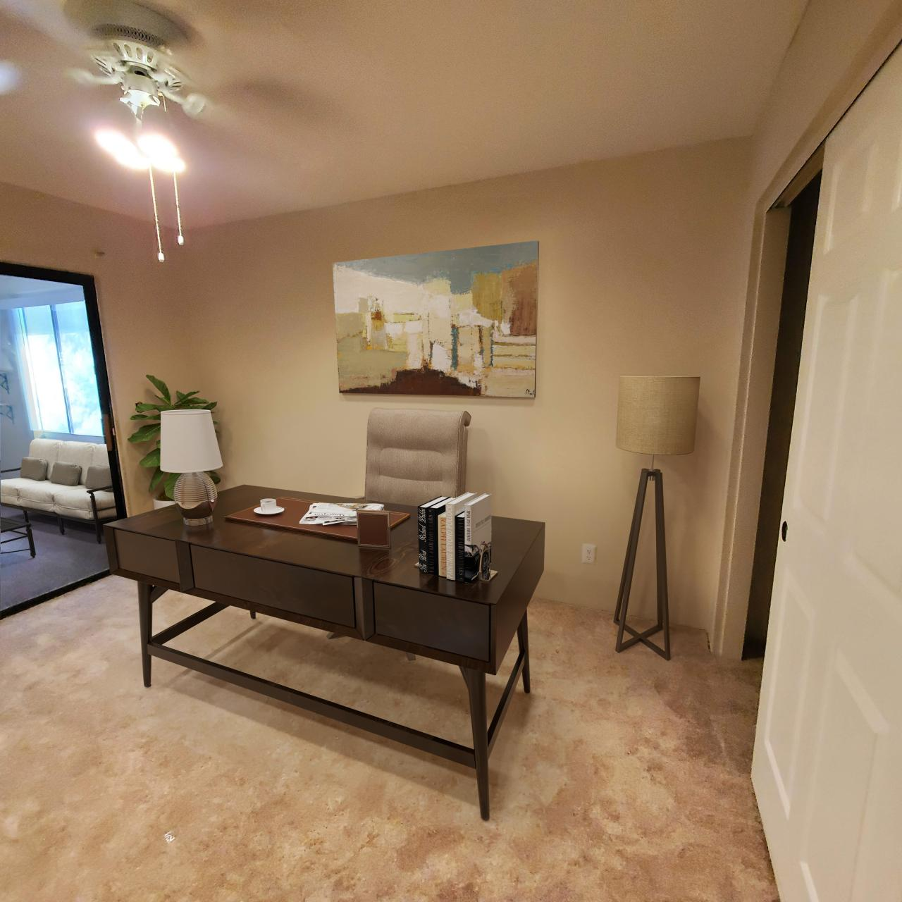 Photo of 2nd bedroom or office in senior living Garden Home D