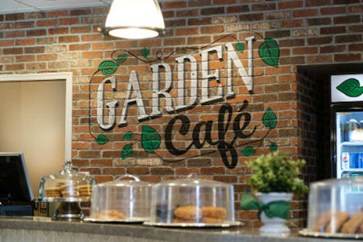 Photo at the counter of Garden Cafe